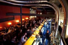 """Take cues from the beer """"sommelier"""" at the Churchkey bar inside the hip Birch & Barley Restaurant. The bar boasts more than 500 beer selections, including 50 cask ales. (1337 14th St. NW, 202-567-2576, churchkeydc.com))"""
