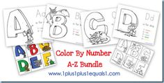 Alphabet & numbers printables