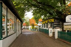The town on Spiekeroog, Germany