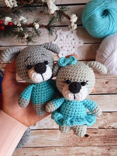 Natalya Shak Crochet Bear Patterns, Amigurumi Patterns, Crochet Toys, Dog Christmas Gifts, Cute Plush, Stuffed Toys Patterns, Handmade Toys, Baby Toys, Crochet Projects