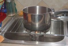 Homemade sterno for cooking or heat during an electric outage. Homemade sterno for cooking or heat during an electric outage. Survival Blog, Homestead Survival, Survival Prepping, Survival Skills, Survival Videos, Survival Shelter, Urban Survival, Survival Quotes, Survival Gear
