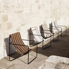 Desert Chair   Lekker Home Lounge Design, Chair Design, Outside Seating, Outdoor Seating, Rattan Furniture, New Furniture, Deck Chairs, Outdoor Chairs, Sofa Lounge