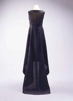 ephemeral-elegance: Mini-Dress with Asymmetrical... - Sorry, I'm late