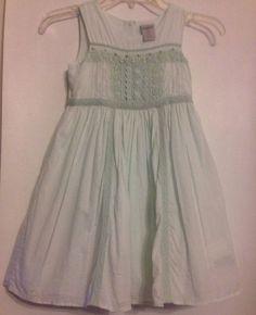Maggie & Zoe Size 6X Sheer Mint Green Dress Fully Lined Cotton Free Shipping #MaggieZoe #Sundress #BridesmaidDressyEverydayHolidayPartyWeddingEaster