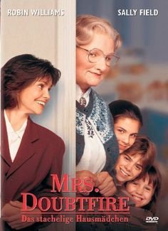 Mrs. Doubtfire I watched this movie so many times because I had a crush on Matthew Lawrence.