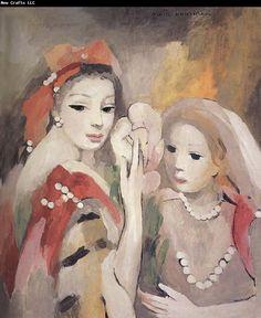 Metixifan and Lalilu (1952) - Marie Laurencin