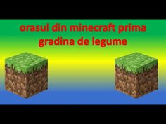 orasul minecraft update 1 0 se fac modificari in orasul din minecraft Minecraft, Cube, Make It Yourself, Outdoor Decor, Youtube, Parts Of The Mass, Youtubers, Youtube Movies