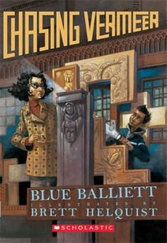 Chasing Vermeer by Blue Balliett. When seemingly unrelated and strange events start to happen and a precious Vermeer painting disappears, eleven-year-olds Petra and Calder combine their talents to solve an international art scandal. Book Club Books, Book Lists, The Book, Book Art, My Books, Book Clubs, Book Study, Fractions, Detective