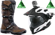 RiDE Best Buy match up - Forma Adventure boots and Nexx XD1 helmet