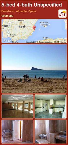 5-bed 4-bath Unspecified in Benidorm, Alicante, Spain ►€990,000 #PropertyForSaleInSpain
