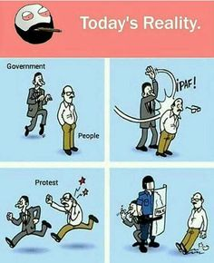 Funny pictures about The Political Protest System. Oh, and cool pics about The Political Protest System. Also, The Political Protest System photos. Political Art, Political Cartoons, Funny Cartoons, Funny Comics, Political System, Memes Humor, Funny Images, Funny Pictures, Funny Gifs