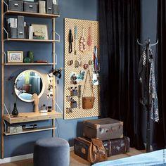 Svalnäs Ikea, Bedroom Desk, Home Office, Home Furniture, Entryway, Minimalist, Curtains, Living Room, Interior Design