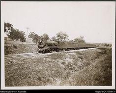 Haydon, C.  Melbourne Limited Express C3602, October 1924.