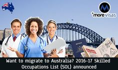 #Australia has #Revealed its Latest #SkilledOccupations #List. Read more...  https://www.morevisas.com/immigration-news-article/australia-has-revealed-its-latest-skilled-occupations-list/4449/