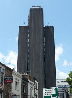 Brutalist Architecture   London Examples  Archway Tower by Fin Fahey, via Flickr
