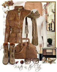 """""""Winter in the City"""" by leegal57 ❤ liked on Polyvore"""