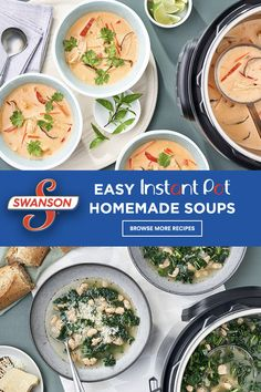 Swanson® have partnered with Instant Pot® to bring you a range of delicious, flavorful homemade recipes with less ingredients, less prep and less cook time to ensure that your weeknight dinner routine is easy and full of family favorites.