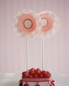 Cup Cake Liners Flowers: Great recipes and more at http://www.sweetpaulmag.com !! @Sweet Paul Magazine