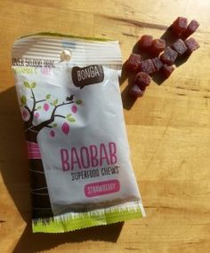Baobab Superfood Chews - cool new product from Expo West #superfruit #expowest #baobab