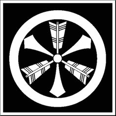 japanese samuri arrow crest  | And the War Crests of theSamurai are a study all of their own ...