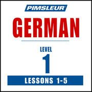 German Level 1 Lessons 1-5: Learn to Speak and Understand German with Pimsleur Language Programs   http://paperloveanddreams.com/audiobook/363505064/german-level-1-lessons-1-5-learn-to-speak-and-understand-german-with-pimsleur-language-programs  