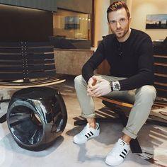 men's fashion. bringing back the adidas.