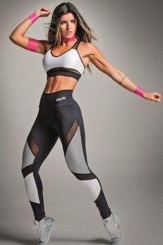 Cal�a Legging Fus� Explosion - Oxyfit 14444178 Dani Banani Fashion Fitness