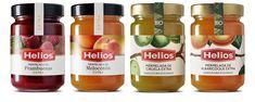 Como me gustan los colores del Etiquetado para mermeladas  de Helios. Enric Aguilera Asociados/