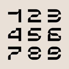 Typography Love, Typo Logo, Typography Inspiration, Typography Letters, Number Typography, Graphic Design Posters, Graphic Design Typography, Lettering Design, Type Design