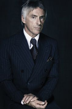 Paul Weller, style icon #gentleman #realmenwearsuits #mensstyle www.menysuitandtie.com