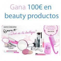 Gana 100€ en beauty productos ^_^ http://www.pintalabios.info/es/sorteos-de-moda/view/es/4903 #ESP #Sorteo #Maquillaje
