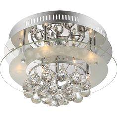 House Additions 7 Light Flush Ceiling Light