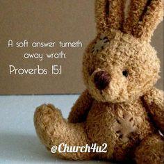 Proverbs 15-1 A soft answer turneth awaywrath: https://church4u2.wordpress.com/2016/05/19/proverbs-15-1-a-soft-answer-turneth-away-wrathpic.twitter.com/1axN3ofKGS  Proverbs 15-1 A soft answer turneth awaywrath: http://ift.tt/1OOzvKl;http://pic.twitter.com/1axN3ofKGS