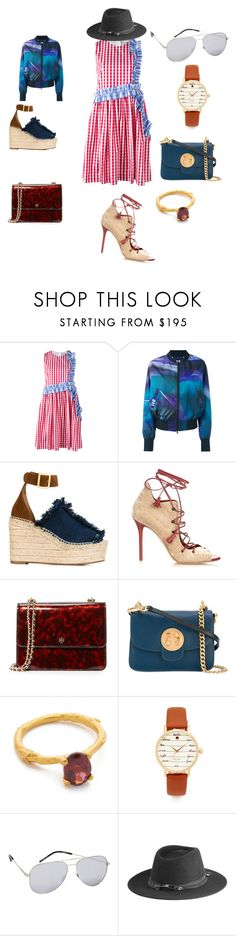 """""""My favorite style"""" by jamuna-kaalla ❤ liked on Polyvore featuring MSGM, Y-3, Chloé, Malone Souliers, Tory Burch, Alex Monroe, Kate Spade, Yves Saint Laurent, Maison Michel and vintage"""