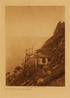 volume 20  facing: page  104 On the cliff edge, King Island