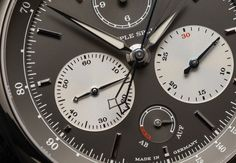 A. Lange Sohne Double Chronograph Triple Split Watch - WORLD OF LUXURY World Of Sports, Chronograph, Watches, Articles, Luxury, Wristwatches, Clocks