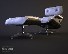 max lighting and material study