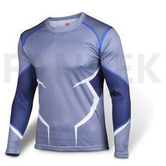 The Avengers Quicksilver Logo Long T-Shirts