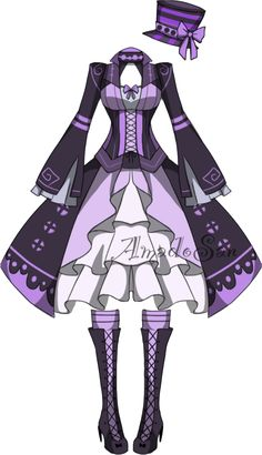 Victorian Outfit5 Adoptable CLOSED by AS-Adoptables.deviantart.com on @DeviantArt