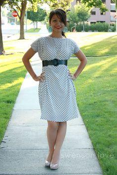 Ten Minute Boxy Dress Tutorial