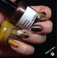 Monthly Mani Favorites ~ May Sunflower Nail Art