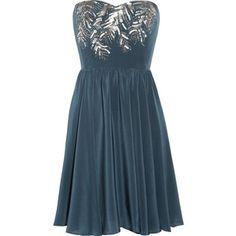 What a pretty party dress...rebecca taylor <3