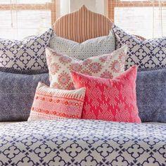 Quadrillefabrics has been one of the leaders in keeping Batik popular in today's design industry.