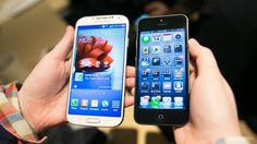 GS4 and iPhone 5 comparison