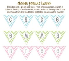 free printable baby shower banner | Create Free Printable Banners | Baby Shower Decorations (FREE ...
