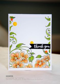 Featuring Penny Black stamps and dies... click through for supplies and instructions. #CAS