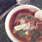 Tasty posole soup that I'll be making for dinner, a real mexican treat, DELISH!