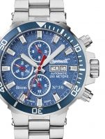Ceasuri: Ingersoll IN1314BLMB Bison No.50 Autom. 48mm 20ATM Bison, Chronograph, Watches, Cod, Silver, Accessories, Wristwatches, Cod Fish, Clocks