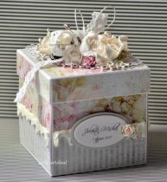 kartki ręcznie robione, ślubne handmade, eleganckie, pudełka eksplodujące, z życzeniami, upominkowe, pudełka na prezenty, exploding box,album Wedding Boxes, Wedding Cards, Scrapbook Box, Scrapbooking, Explosion Box Tutorial, Shabby Chic Boxes, Altered Cigar Boxes, Christmas Gift Card Holders, Exploding Box Card