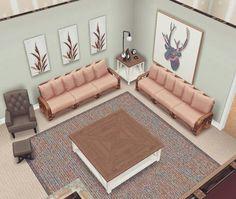 Casas The Sims Freeplay, Sims Freeplay Houses, Sims 4 Houses, Sims Free Play, Sims 4 House Design, Sims House Plans, Casas The Sims 4, Sims 4 Clutter, Sims 4 Cc Furniture